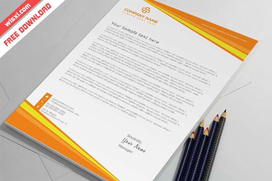 Templates For Letterhead Free Download