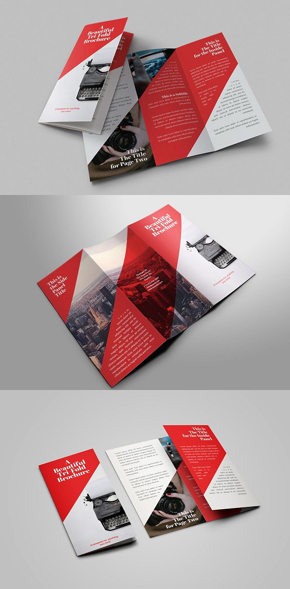 Tri Fold Brochures Templates Free Download