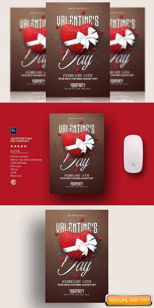Valentine Invitation Templates Free Download