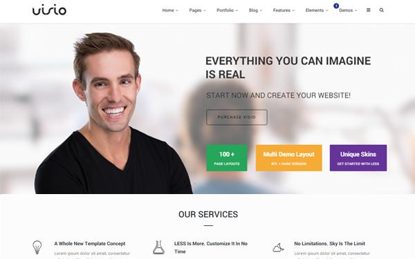 Visio Website Template