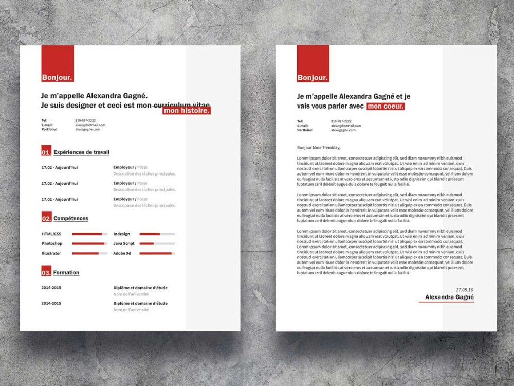 Word Free Resume Cover Letter Template