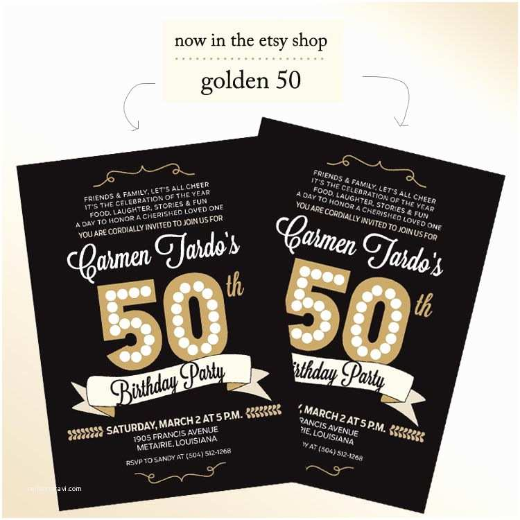 50th Birthday Invitations For Him Daves 50th Birthday Party On Pinterest