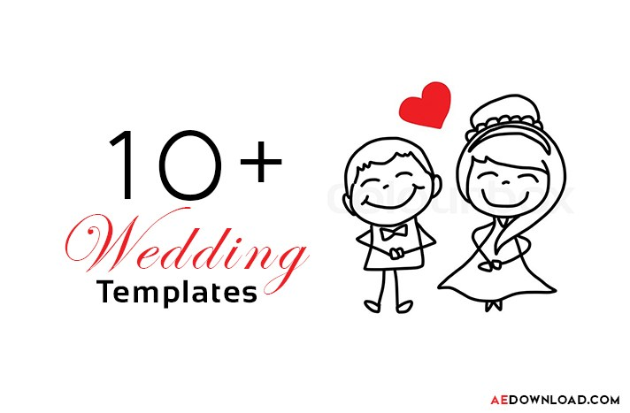 After Effects Wedding Templates Free Download