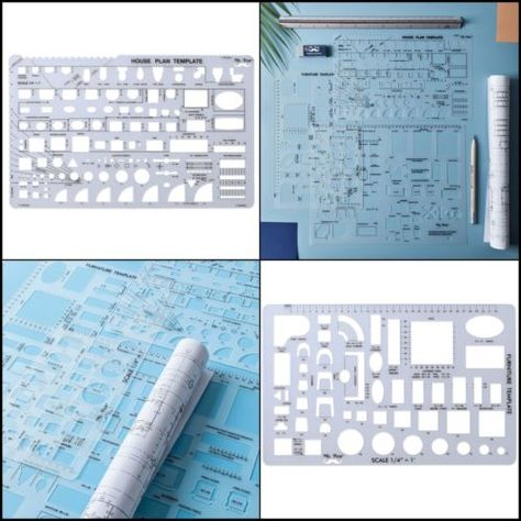 Architectural Templates For Drafting