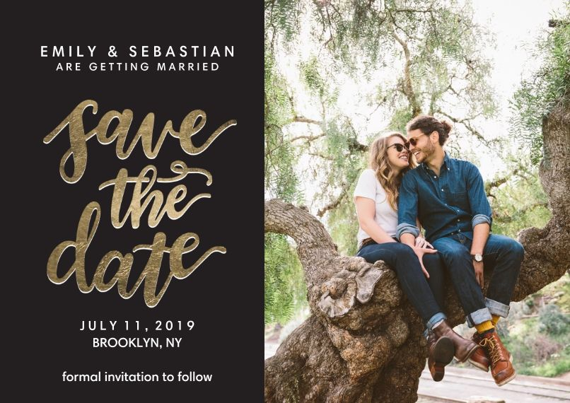 Blank Wedding Save The Date Templates