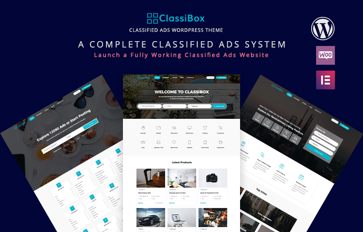 Classified Ads Website Template Wordpress Free