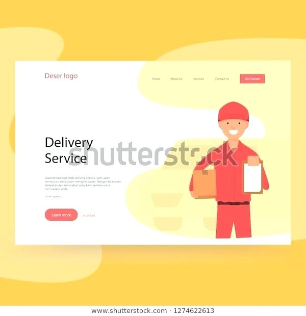 Courier Website Template Free