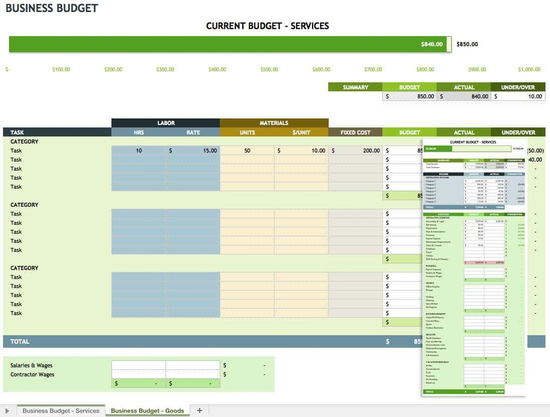 Daily Expense Sheet Excel Template