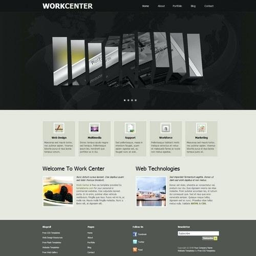 Dreamweaver Web Templates Free Download
