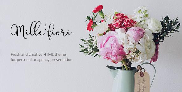 Florist Website Templates