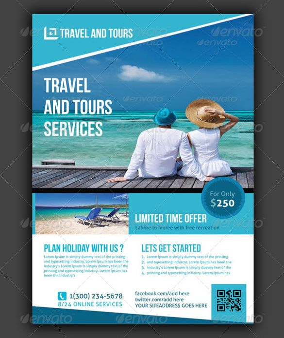 Free Travel Flyer Templates Psd