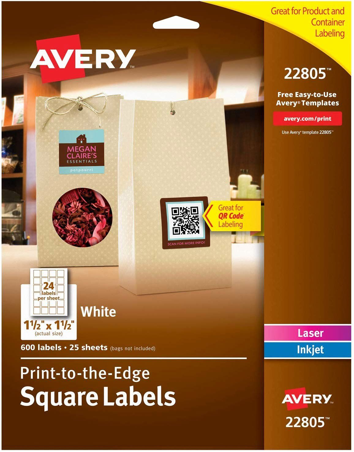 Inkjet Labels Template Word