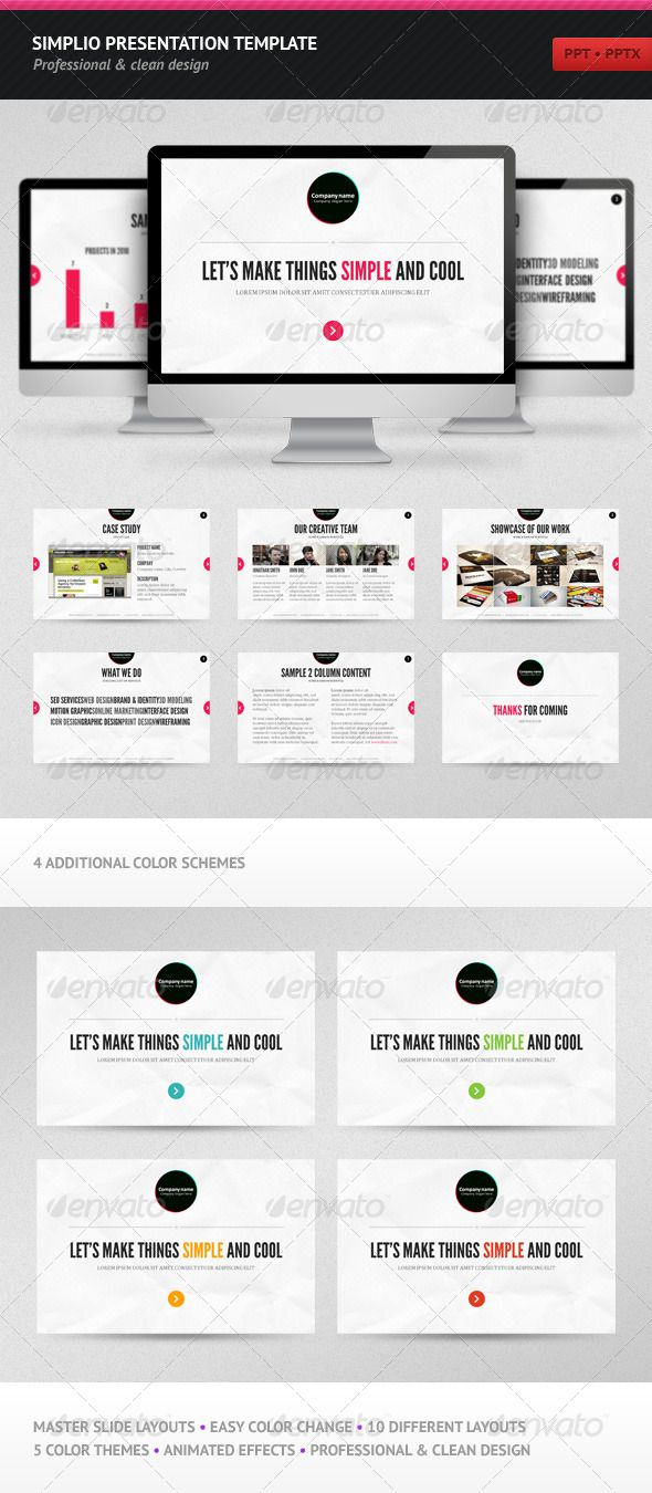 Interactive Ppt Template Free