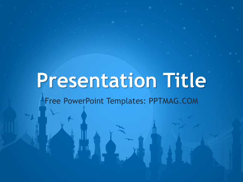 Islamic Powerpoint Presentation Templates Free Download