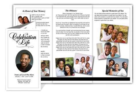 Legal Size Tri Fold Brochure Template