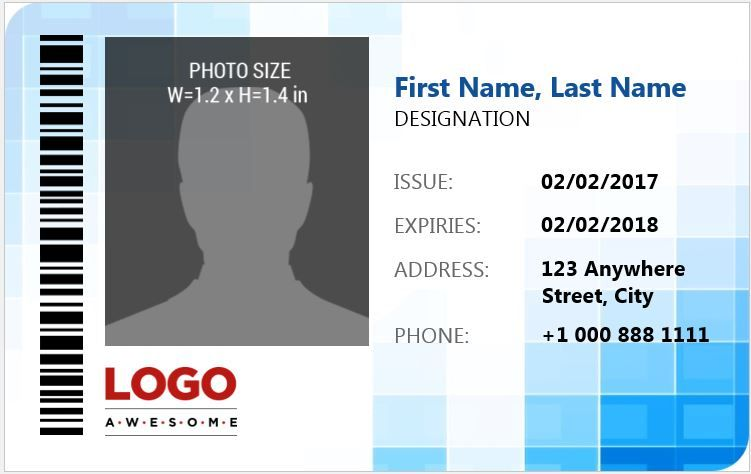 Photo Id Badges Templates