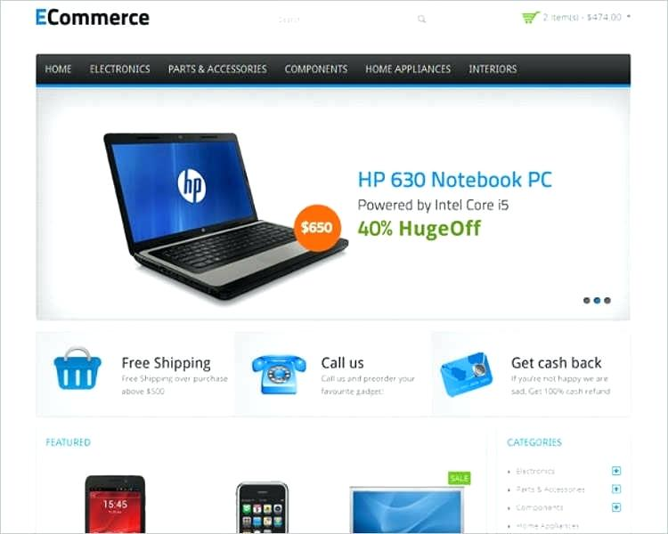 Php Ecommerce Template Free Download