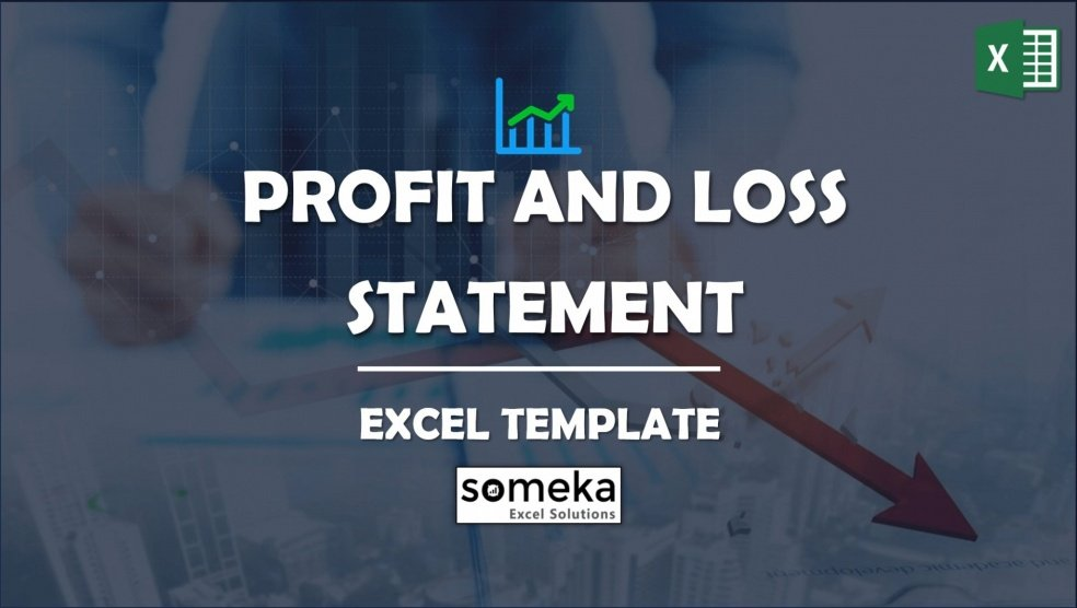 P&l Statement Template Excel