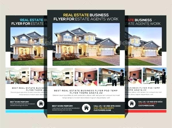 Real Estate Feature Sheet Template Free Download