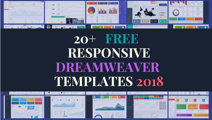 Responsive Dreamweaver Templates Free