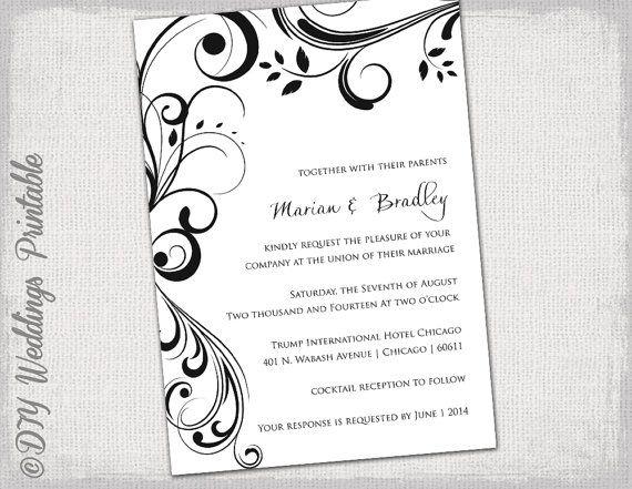 Scroll Invitation Templates