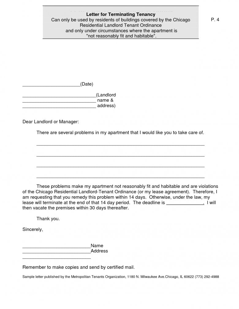 Template Tenancy Lease Agreement