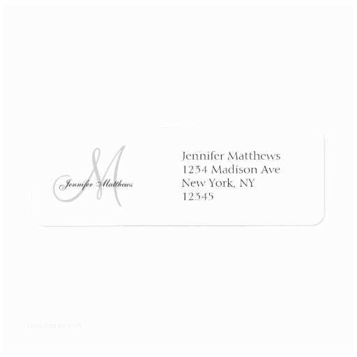 Return Labels For Wedding Invitations Return Address Labels & Templates