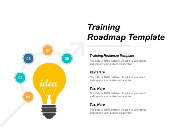Training Roadmap Template Ppt