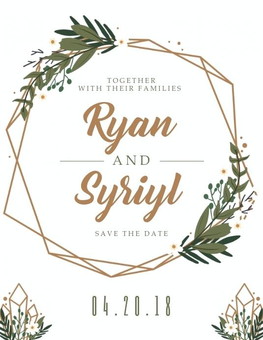 Wedding Save The Date Email Templates