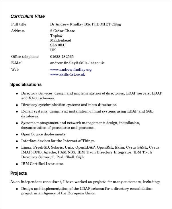 Word Document Printable Resume Templates