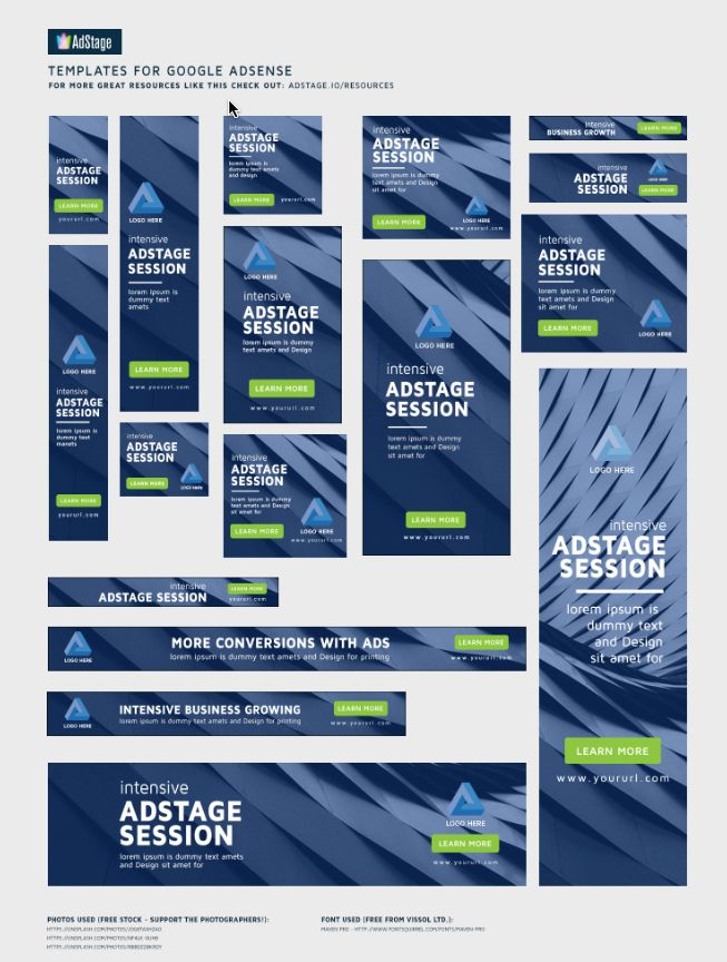 Ad Banner Design Templates