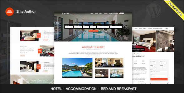 Bed And Breakfast Website Templates