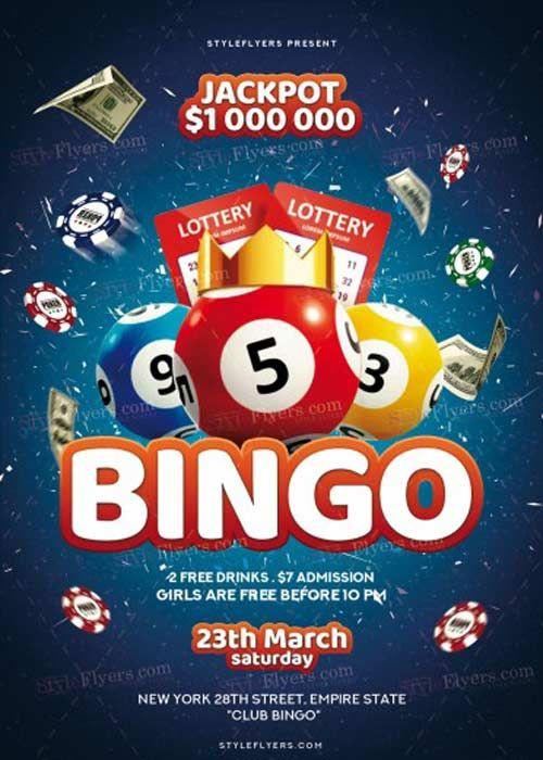 Bingo Flyer Template Free Download