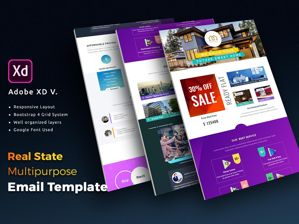 Bootstrap Newsletter Template