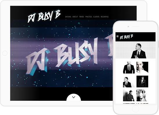 Dj Websites Templates