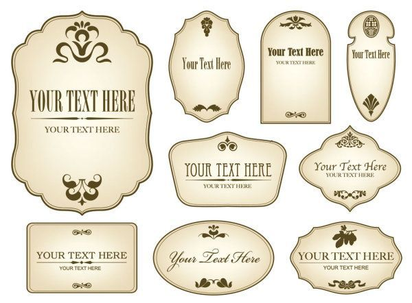 Free Printable Candle Label Templates