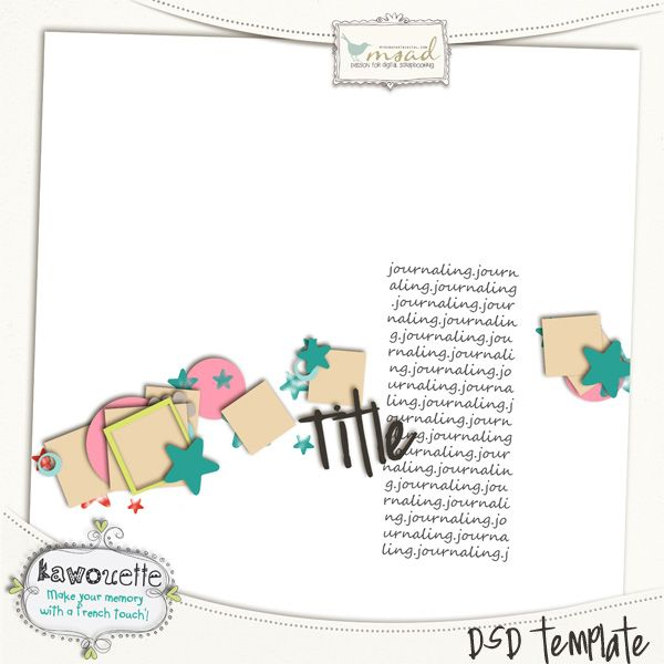 Freebie Digital Scrapbooking Templates