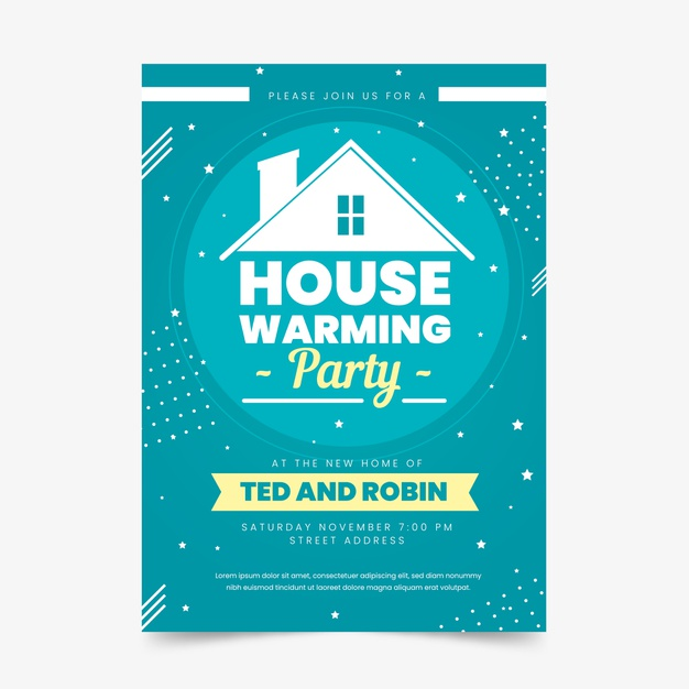 Housewarming Party Invitation Template For Free