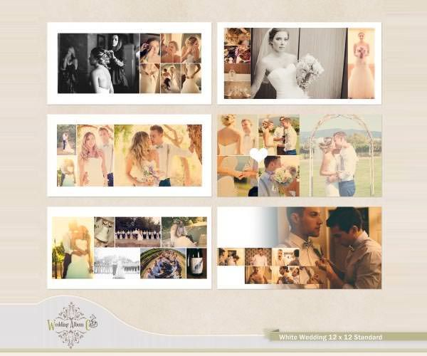 Indesign Wedding Album Templates
