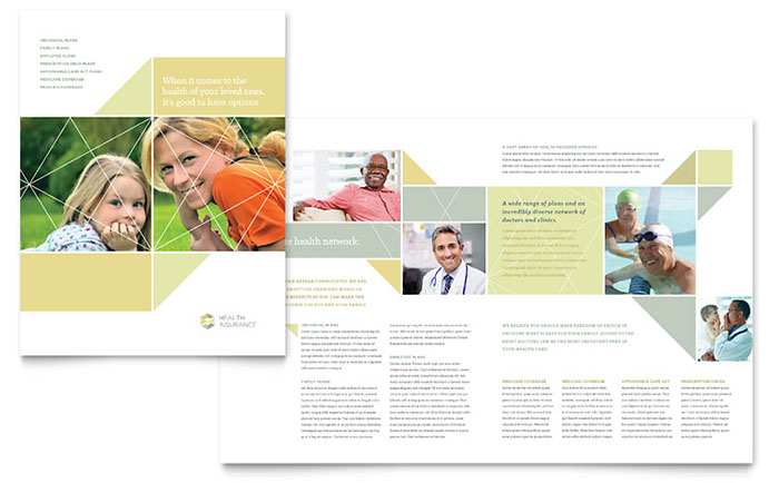 Insurance Brochure Template