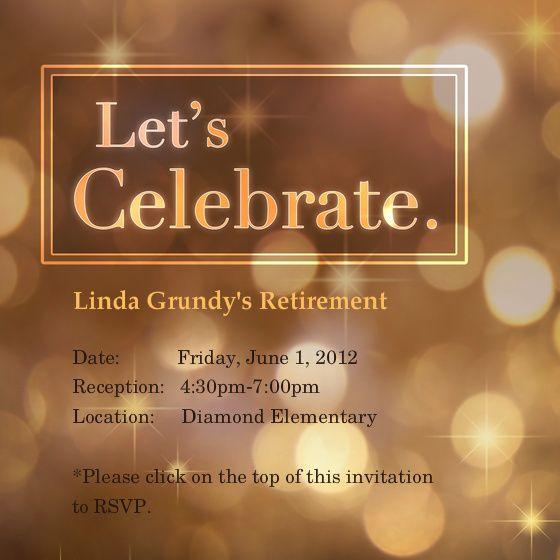 Retirement Invitations Template Free