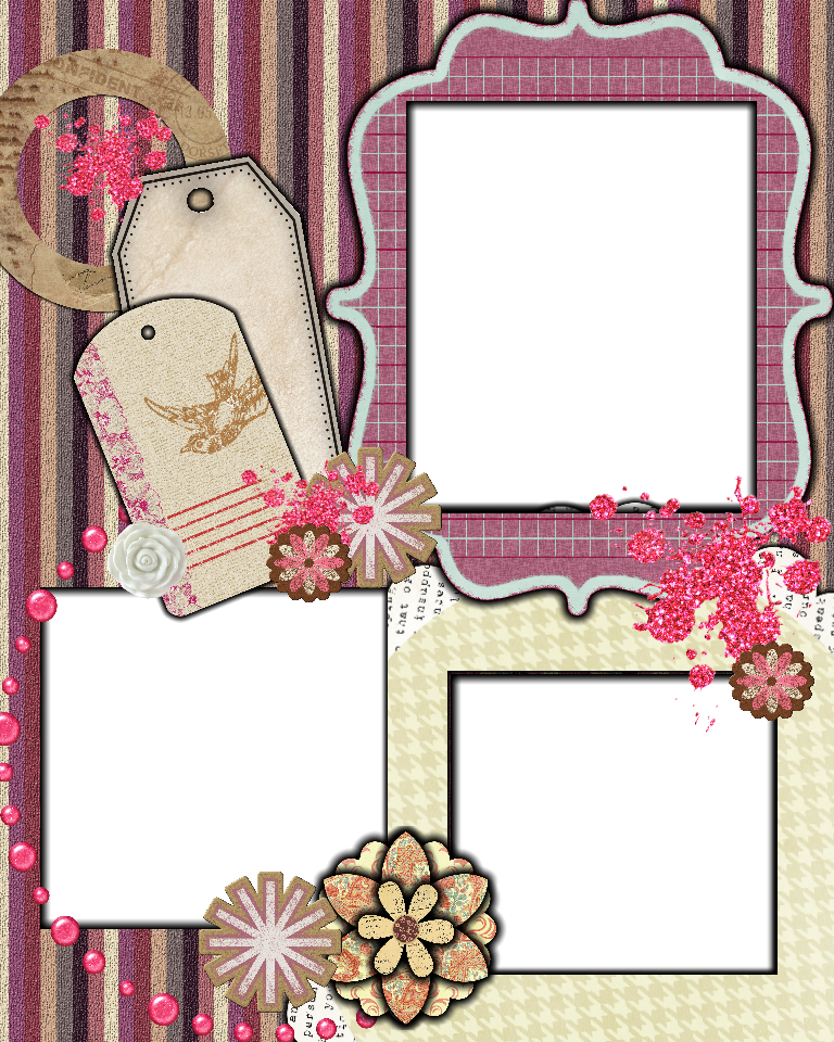 Scrapbook Layout Scrapbooking Templates Free Printables