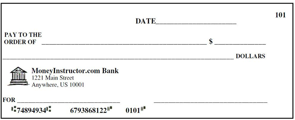 Template Printable Printable Fake Checks