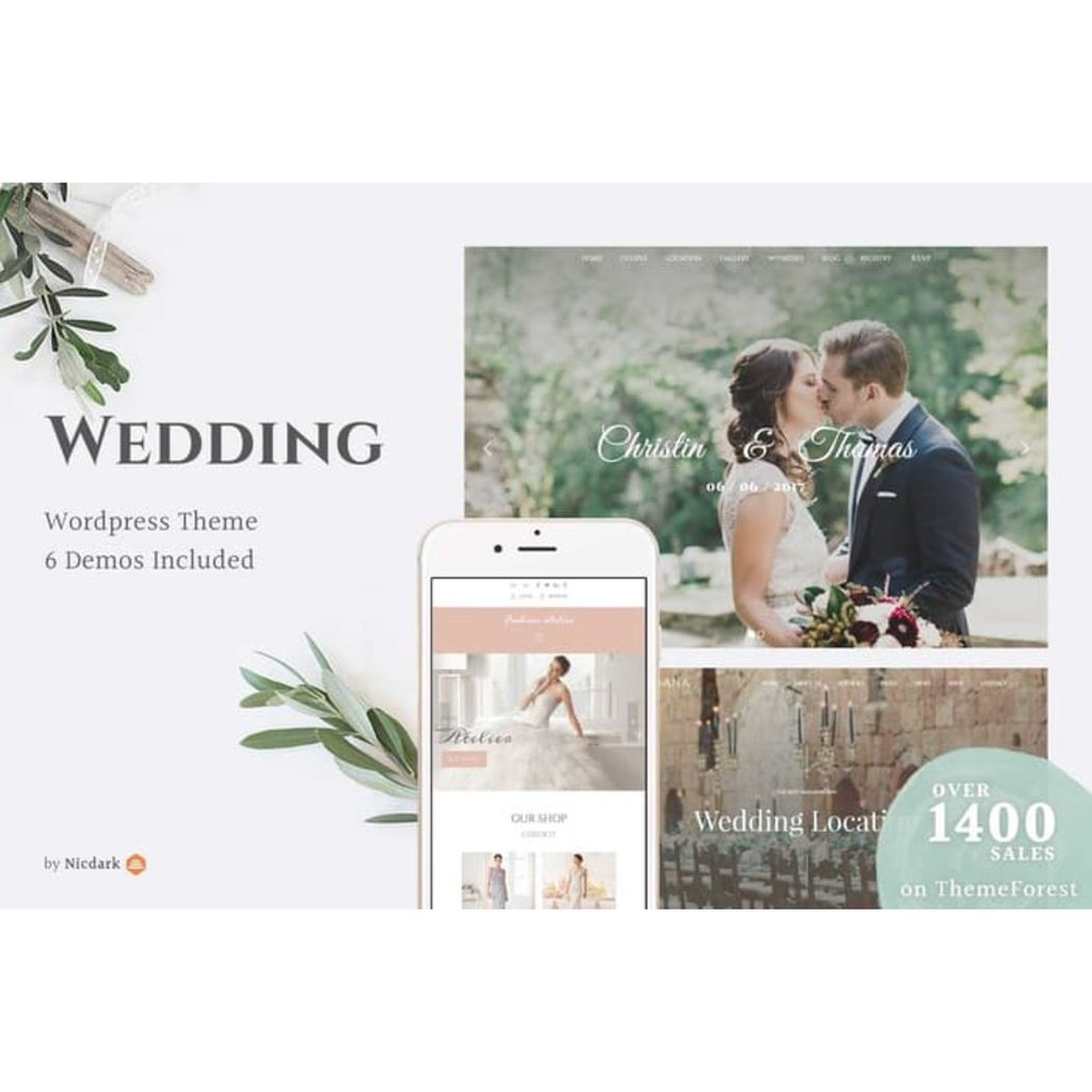 Wedding Template Wordpress
