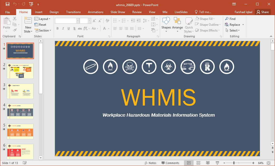 Whmis Labels Template