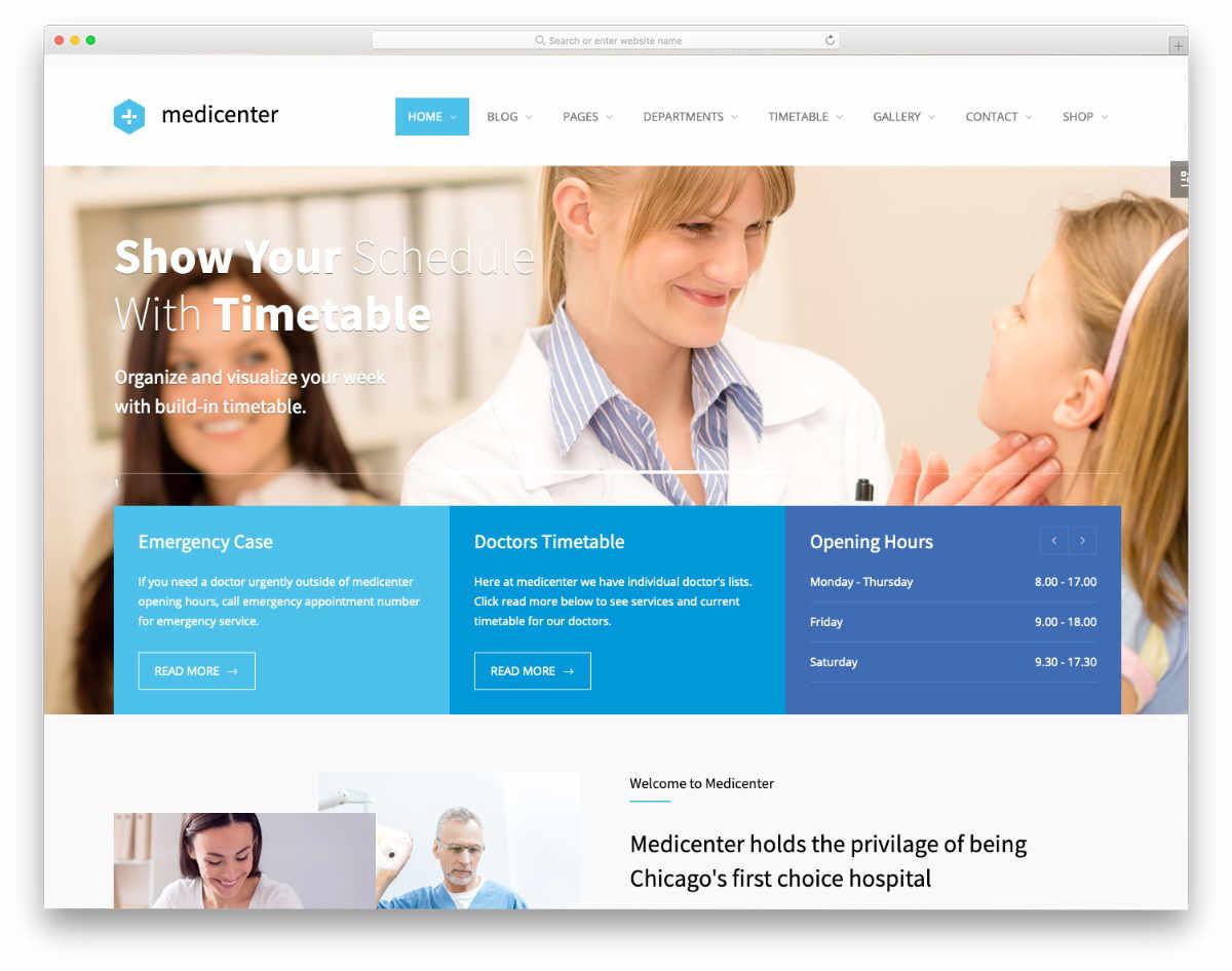 Acupuncture Website Templates