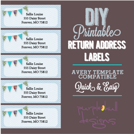Avery Printable Labels Template