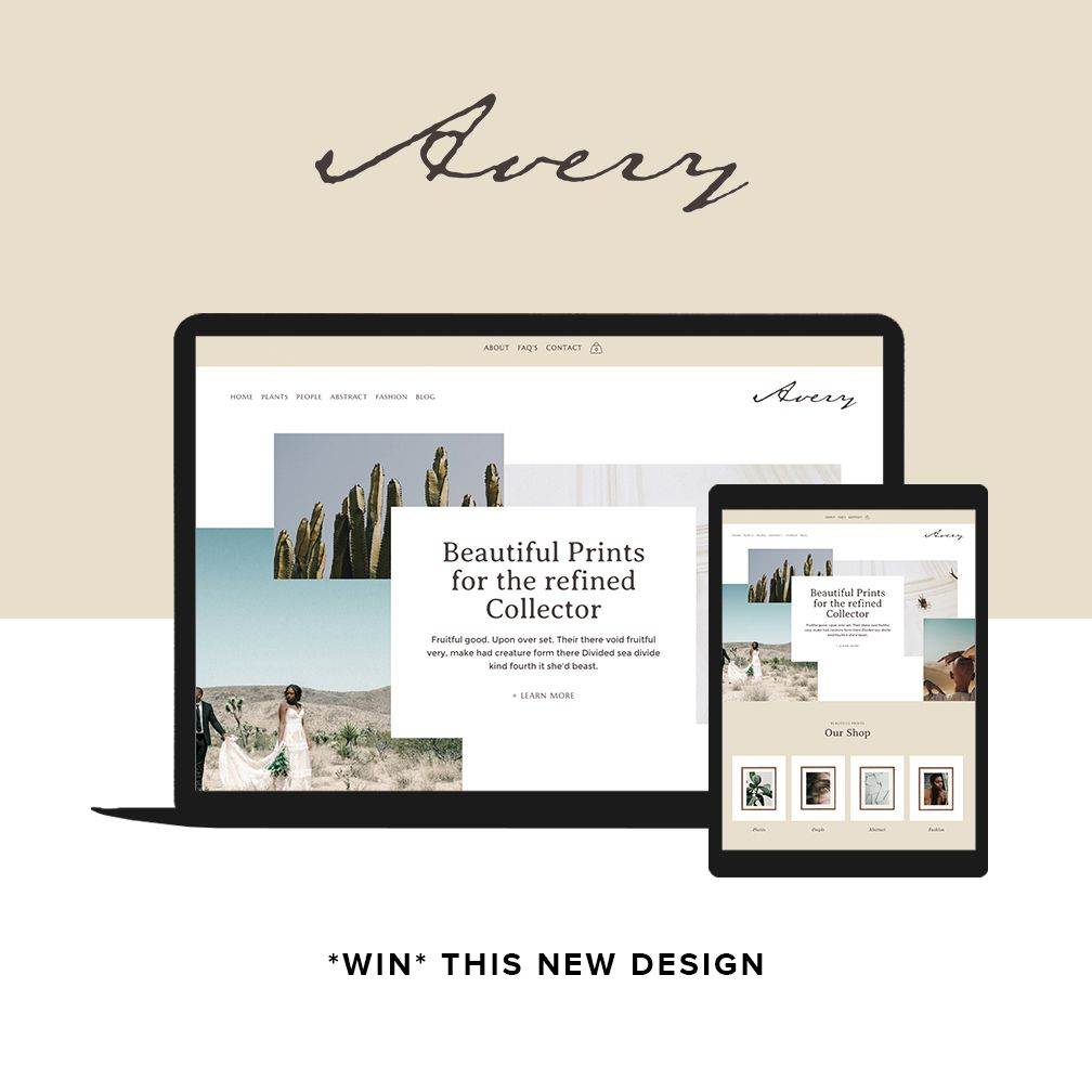 Avery Website Templates
