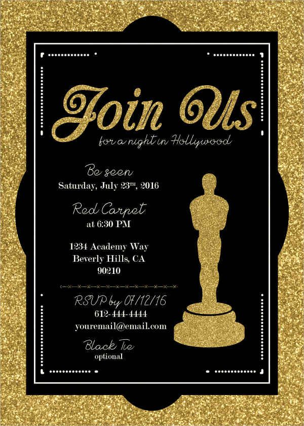 Award Invitation Template