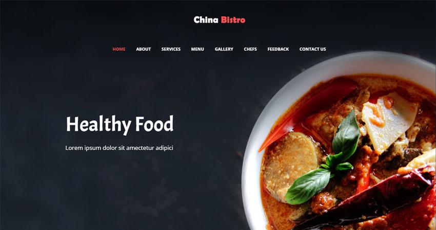 Best Restaurant Website Templates Free Download